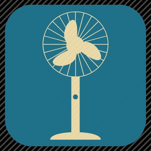 fan, furniture, interior, table icon