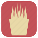 flower, furniture, interior, pot icon