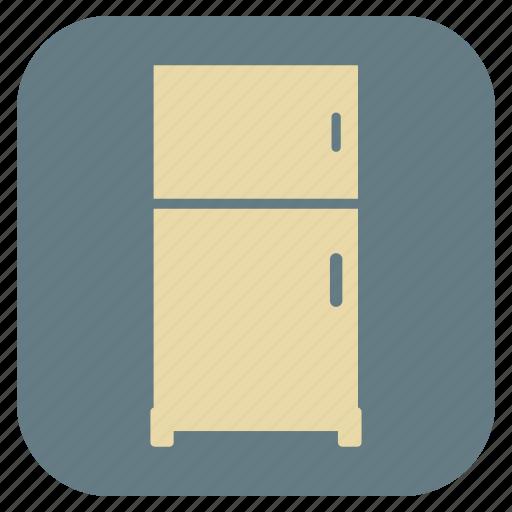 fridge, furniture, interior icon