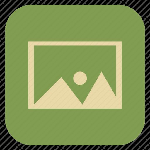 furniture, interior, picture icon