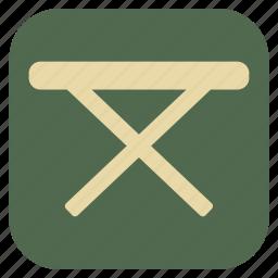 furniture, interior, table icon