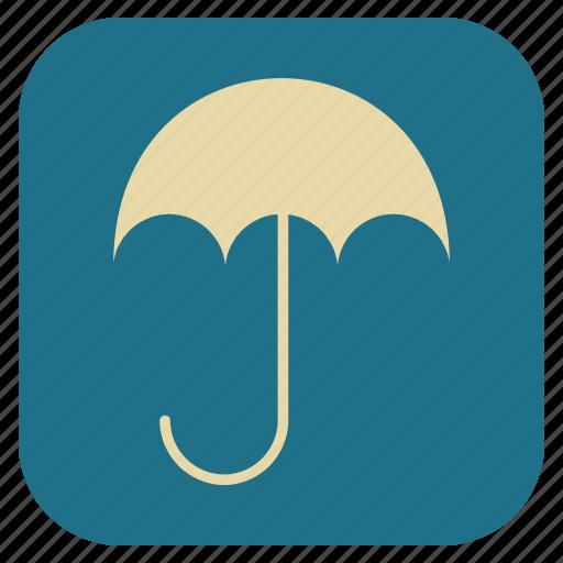 furniture, interior, umbrella icon