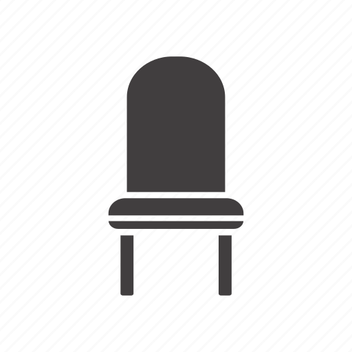 backrest, chair, furniture, seat, stool icon