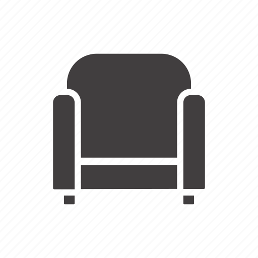 armchair, backrest, chair, furniture, lounge, recliner, seat icon