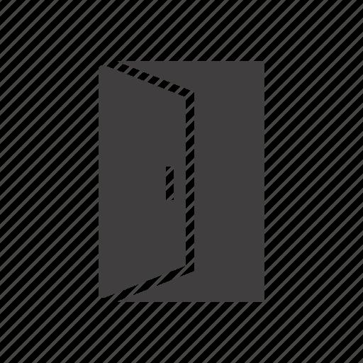 door, doorway, entrance, entry icon
