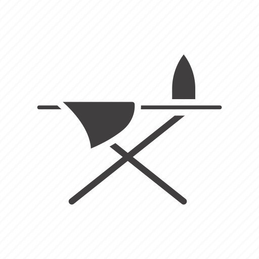 board, iron, ironing, pressboard, steaming icon