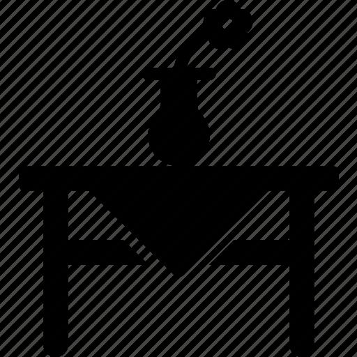 furniture, house, kitchen, table, vase icon