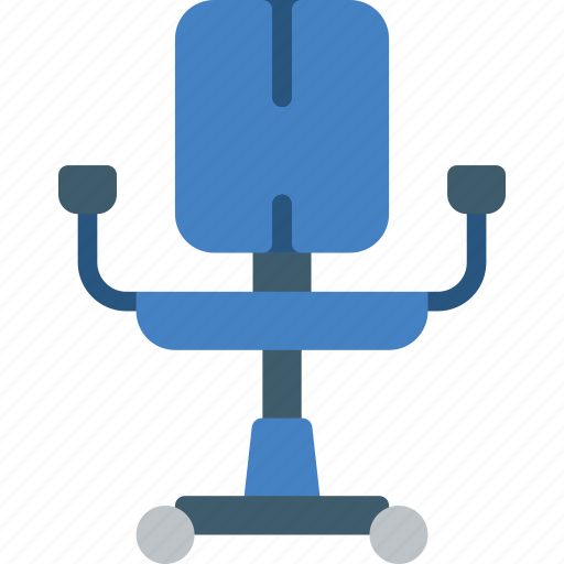 chair, furniture, house, office, seat, stool icon