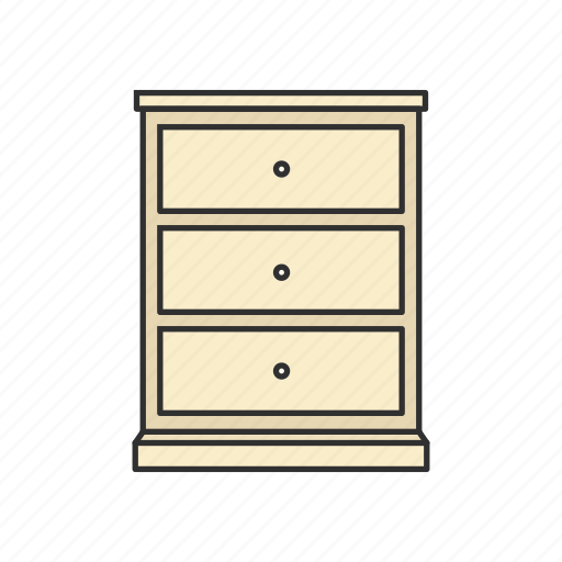 Cabinet, chifforobe, closet, drawer, furniture, interior, storage icon - Download on Iconfinder