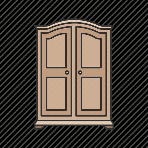Cabinet, closet, furniture, interior, shelves, storage, household icon - Download on Iconfinder