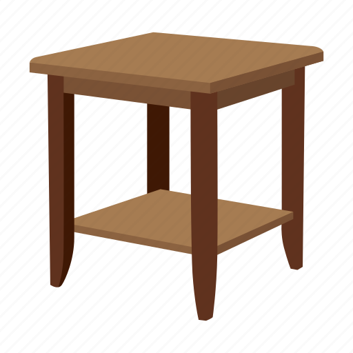 console table, desk, end table, furniture, households, side table, table icon
