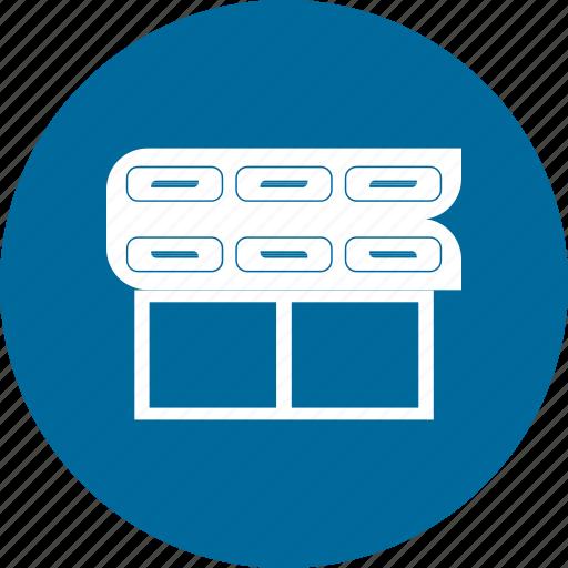 cabinet, interior, kitchen cabinet, modern icon
