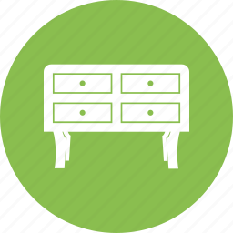 cabinet, cupboard, desk drawers, drawers icon
