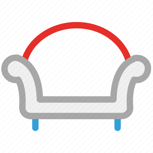 couch, furniture, interior, sofa icon