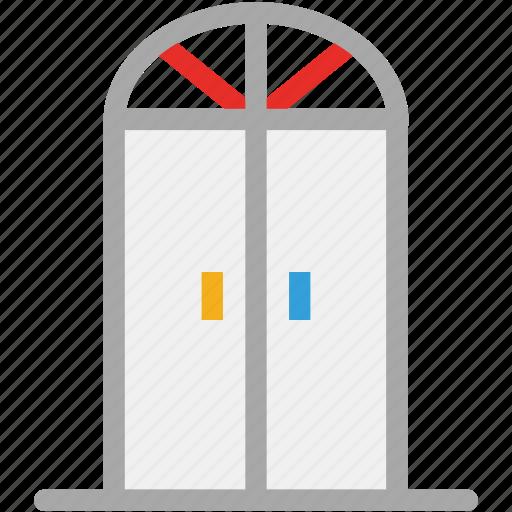 door, entrance, interior, wooden door icon