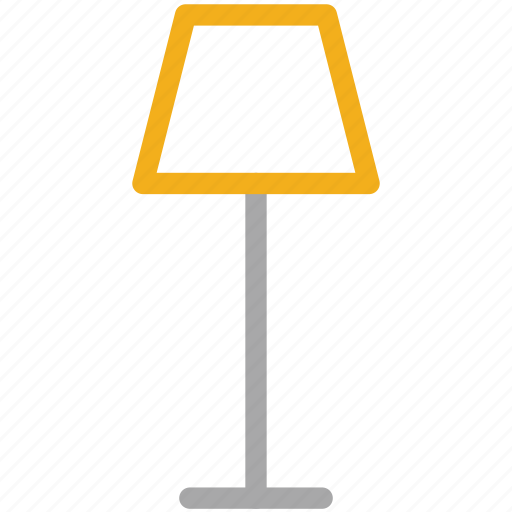 electric lamp, lamp, light, living room lamp icon