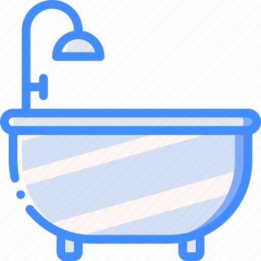 bath, bathroom, furniture, house, wash icon