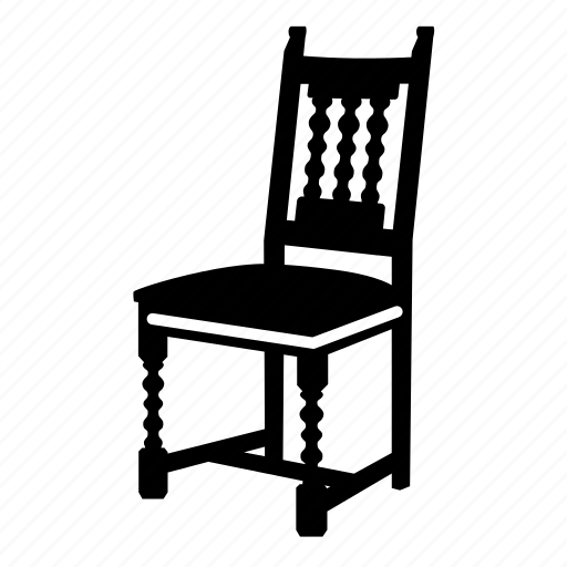 Chair, classic, dining chair, eat, furniture, home icon - Download on Iconfinder