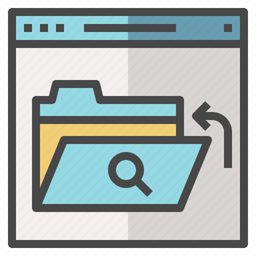 browse, category, folder, item, search, web icon