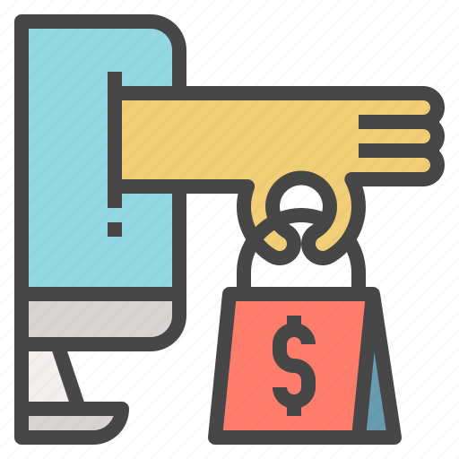 buying, convenient, online, sale, shopping, technology icon