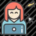 avatar, buy, customer, online, shopping icon