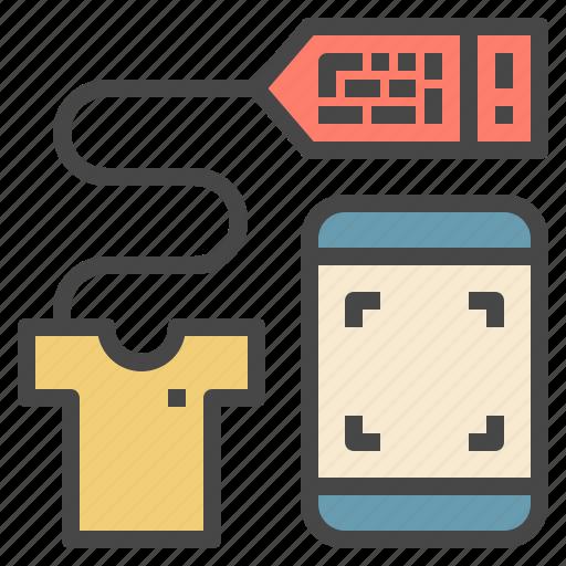 bar, code, detail, information, phone, qr, scan icon