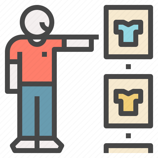 clothes, dressing, fitting, room, selection, try, virtual icon