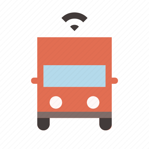 autonomous, driverless, self driving, smart, transport, truck icon