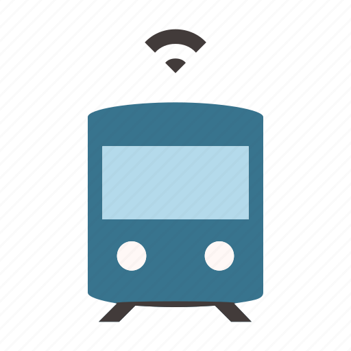 Autonomous, metro, self driving, train, tramway, transport, smart icon - Download on Iconfinder