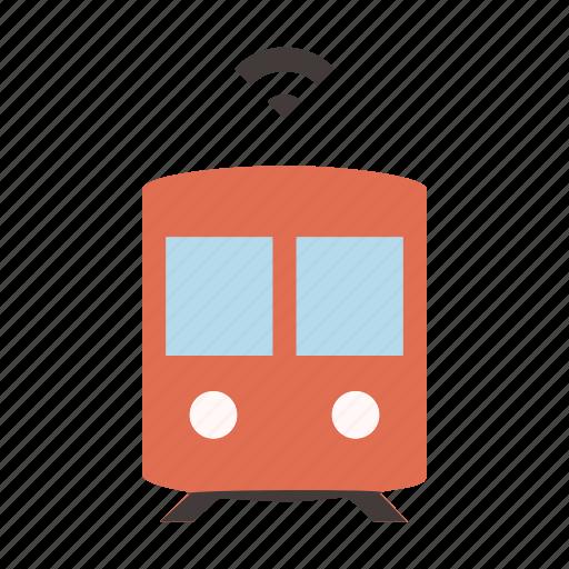 driverless, metro, self driving, smart, subway, train, transport icon