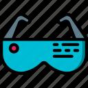 future, glasses, high tech, smart, tech, technology