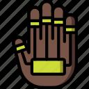 future, hand, high tech, keyboard, tech, technology