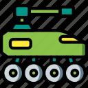 future, high tech, tank, tech, technology