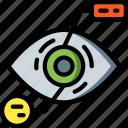 analysis, eye, future, high tech, tech, technology