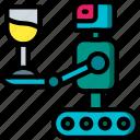 future, high tech, personal, robot, tech, technology icon