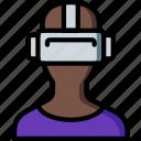 future, goggles, high tech, tech, technology, vr