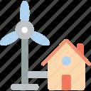 future, high tech, homes, tech, technology, windpowered
