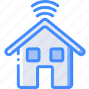 future, high tech, house, smart, tech, technology icon