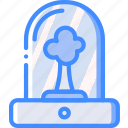future, high tech, incubator, tech, technology, tree icon