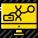 dna, editing, future, high tech, tech, technology icon
