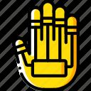future, hand, high tech, keyboard, tech, technology icon