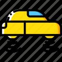 car, flying, future, high tech, tech, technology icon
