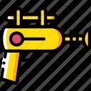 future, gun, high tech, ray, tech, technology icon