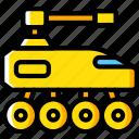 future, high tech, tank, tech, technology icon