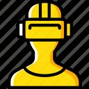 future, goggles, high tech, tech, technology, vr icon