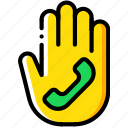 future, hand, high tech, phone, tech, technology icon