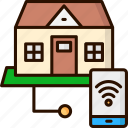 home, house, smart, smart home, technology icon