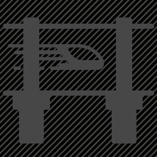 fast, futuristic, hyperloop, train, transport, transportation, vehicle icon