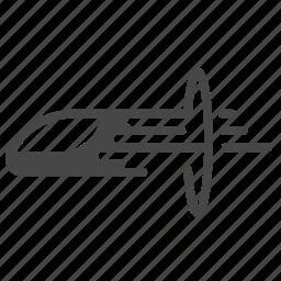 accelerate, fast, futuristic, hyperloop, speed, transportation, vehicle icon