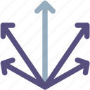 arrows, derection, down, left, move, right, up icon